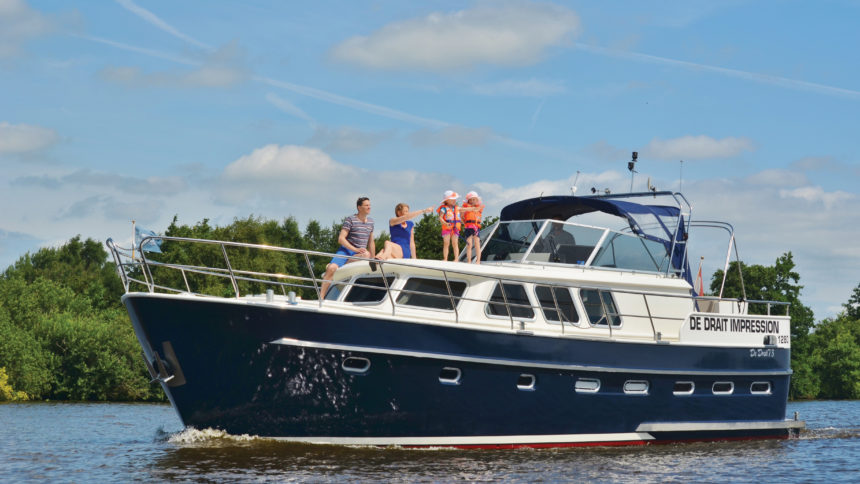Boat rental in Friesland and Brandenburg - Berlin | Yachtcharter De Drait